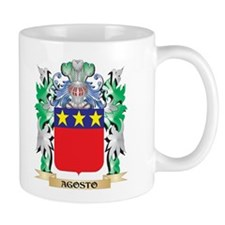 Agosto Coat of Arms - Family Crest Mugs