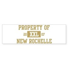 Property of New Rochelle Bumper Bumper Sticker