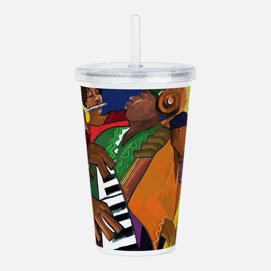 Music Series Acrylic Double-wall Tumbler