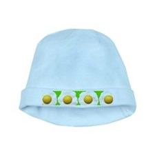 lime green eggs baby hat