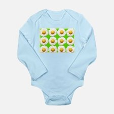 lime green eggs Body Suit