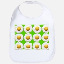 lime green eggs Bib