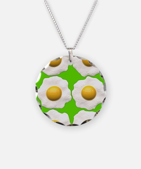 lime green eggs Necklace