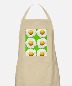 lime green eggs Apron