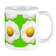 lime green eggs Mugs