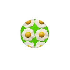 lime green eggs Mini Button