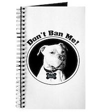 Don't Ban Me! Pit Bull Journal