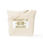Property of Midland Tote Bag