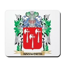 Ainsworth Coat of Arms - Family Crest Mousepad