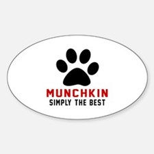 Munchkin Simply The Best Cat Design Decal