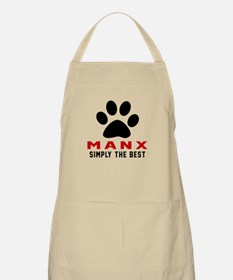 Manx Simply The Best Cat Designs Apron