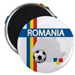 Romania Soccer Magnet