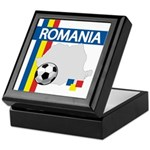 Romania Soccer Keepsake Box