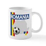Romania Soccer Mug