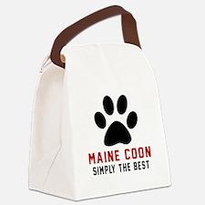 Maine Coon Simply The Best Cat De Canvas Lunch Bag