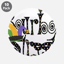 """Bourbon Street 3.5"""" Button (10 pack)"""