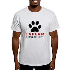 LaPerm Simply The Best Cat Designs T-Shirt