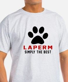 LaPerm Simply The Best Cat Designs T-Shirt