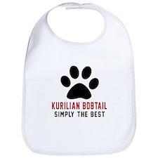 Kurilian Bobtail Simply The Best Cat Designs Bib
