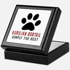 Kurilian Bobtail Simply The Best Cat Keepsake Box