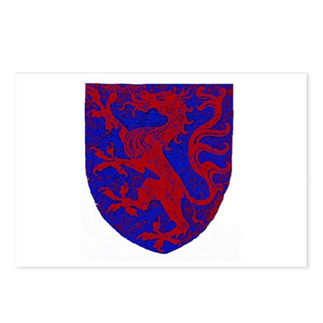 Panther Heraldry Postcards (Package of 8)