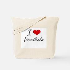 I love Dreadlocks Tote Bag