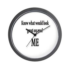 Damn i'm glad im not blind Wall Clock