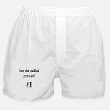 Damn i'm glad im not blind Boxer Shorts