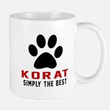 Korat Simply The Best Cat Designs Mug