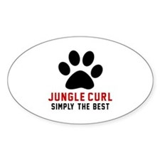 Jungle-curl Simply The Best Cat Des Decal