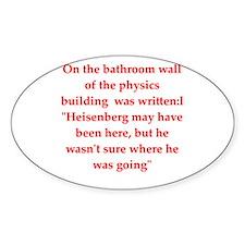 physics joke Decal