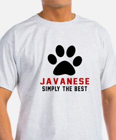 Javanese Simply The Best Cat Designs T-Shirt