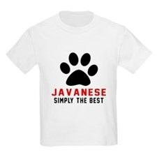 Javanese Simply The Best Cat De T-Shirt