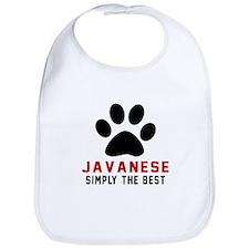 Javanese Simply The Best Cat Designs Bib