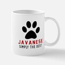 Javanese Simply The Best Cat Designs Mug