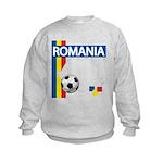 Romania Soccer Kids Sweatshirt