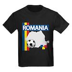 Romania Soccer Kids Dark T-Shirt