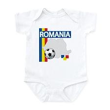 Romania Soccer Infant Bodysuit