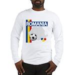 Romania Soccer Long Sleeve T-Shirt