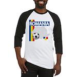 Romania Soccer Baseball Jersey