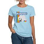 Romania Soccer Women's Light T-Shirt