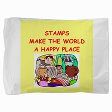 STAMPS.png Pillow Sham