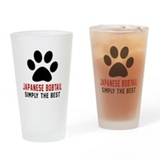 Japanese Bobtail Simply The Best Ca Drinking Glass