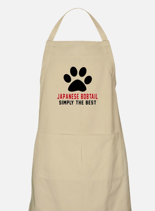 Japanese Bobtail Simply The Best Cat Designs Apron