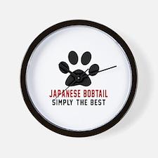 Japanese Bobtail Simply The Best Cat De Wall Clock