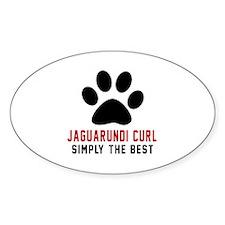 Jaguarundi curl Simply The Best Cat Decal