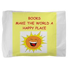 BOOKS.png Pillow Sham