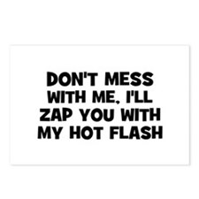 don't mess with me, I'll zap  Postcards (Package o