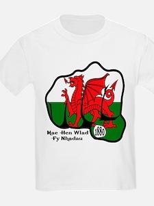 Wales Fist 1881 T-Shirt