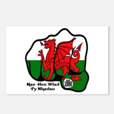 Wales Fist 1881 Postcards (Package of 8)